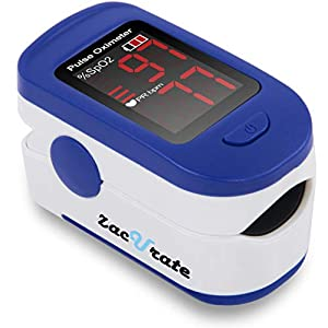 ACCURATE AND RELIABLE - Accurately determine your SpO2 (blood oxygen saturation levels), pulse rate and pulse strength in 10 seconds and display it conveniently on a large digital LED display. SPORT/HEALTH ENTHUSIASTS - For sports enthusiasts like mo...
