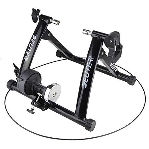 Rodillo Bicicleta, Rodillo de Entrenamiento para Bicicleta con Cierre de liberación rápida y Sistema Elevador Rueda Delantera