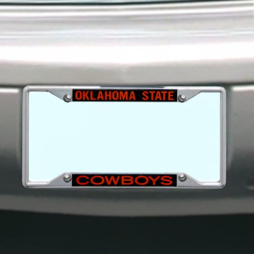 Stockdale NCAA Oklahoma State Cowboys License Plate Frame