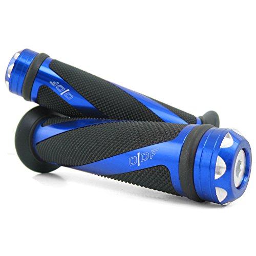 Lenkergriffe kompatibel mit Yamaha WR R 125, WR X 125, WR X 250 WR 250, 450 (Coil/Blau)