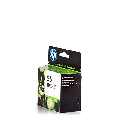 HP Original C6656AE / 56, für OfficeJet 5610 Premium Drucker-Patrone, Schwarz, 520 Seiten, 19 ml