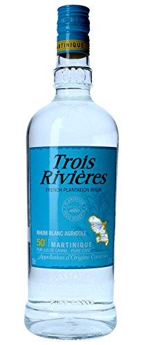classement un comparer Trois Rivières Martinique 1 litre de rhum agricole blanc