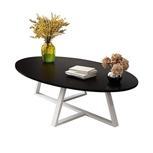 ChangDe-- Couchtisch, EIN Paar Teetisch Ovaler Tisch Einfache IKEA Economy Wohnzimmer Kreative Nordic Small Family...