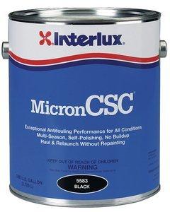 Interlux Marine Micron CSC Boat Bottom Anti-Fouling Paint BLACK QUART by Interlux