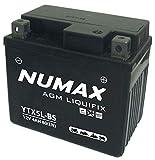 Numax - Batterie moto Numax Premium AGM YT5LBS 12V 5Ah 70A