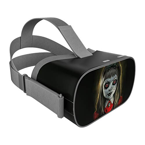 Haunted Doll DecalGirl Skin for Oculus Go Mobile VR Headset - Ultra Thin Protective Vinyl Decal wrap Cover