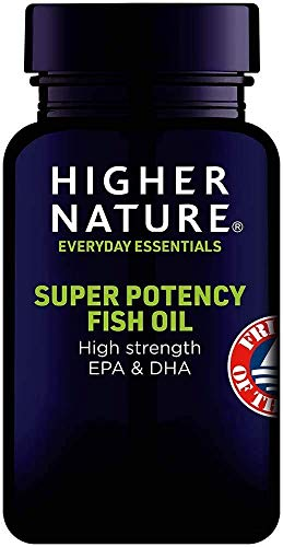 Higher Nature Super Potency Fish Oil Capsules (90 Capsules)