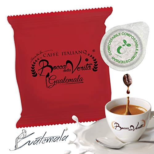 Coffee Pods Guatemala (Arábica Antigua) | ECO Capsule 100 Pods Type 44mm ESE|Bocca Della Verita.