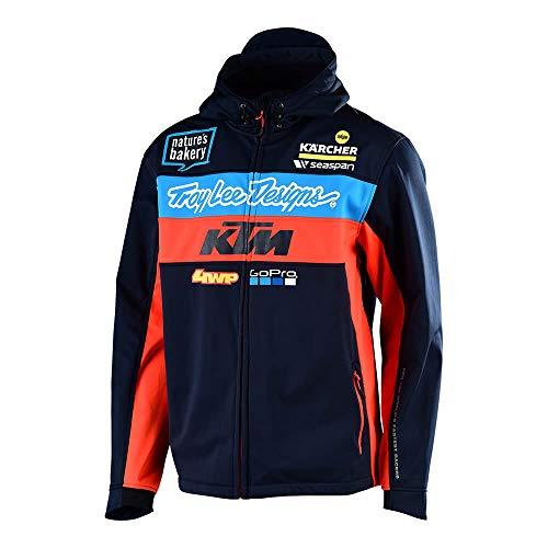 Troy Lee Designs Erwachsene Jacke KTM Team Pit Polar XL Marineblau