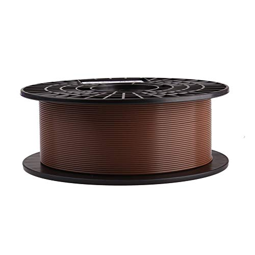 print-rite-europe LFD002N 3D Printer Filament Spool, PLA, 1.75 mm diameter, 1 kg, Brown