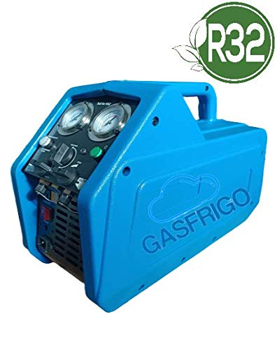 RECUPERATORE GAS REFRIGERANTE PER TUTTI I GAS R410A R134A R32 CON SEPARATORE DI OLIO