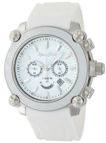 Marc Ecko Men's E18596G1 The DT1 Chronograph White Dial Watch - http://coolthings.us