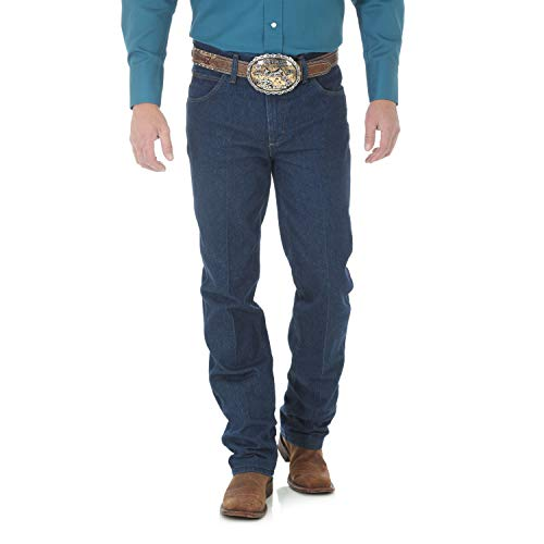 Wrangler Men's Premium Performance Cowboy Cut Slim Fit Jean, Prewash, 40W x 30L