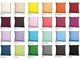 CAÑETE - Cojín Lisa 50x50 cm - Color Café