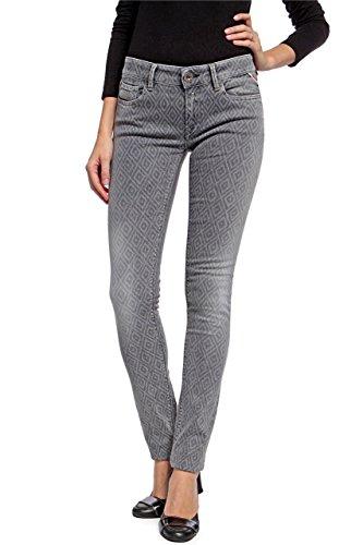 Replay Damen Skinny Jeans Luz WX689, Grau (10), 31W / 32L