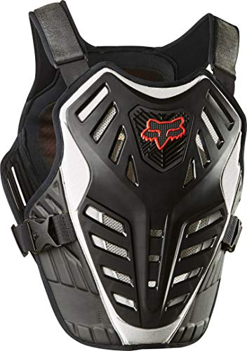 chest guard Fox Titan Race Subframe Ce Black/Silver L/Xl