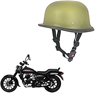 Vheelocityin Bike Motorcycle Royal German Style Helmet (Matt Beige)