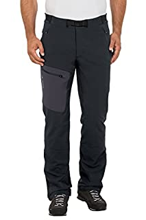 VAUDE Herren Men's Badile Pants II Hose Hose Badile Pants II, black, 48 (Herstellergröße: S) (B009PMEFU0) | Amazon price tracker / tracking, Amazon price history charts, Amazon price watches, Amazon price drop alerts