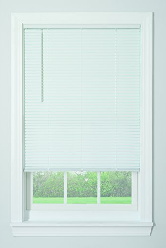 "Bali Blinds 1"" Vinyl Cordless Blind, 34"" x 64"", White"