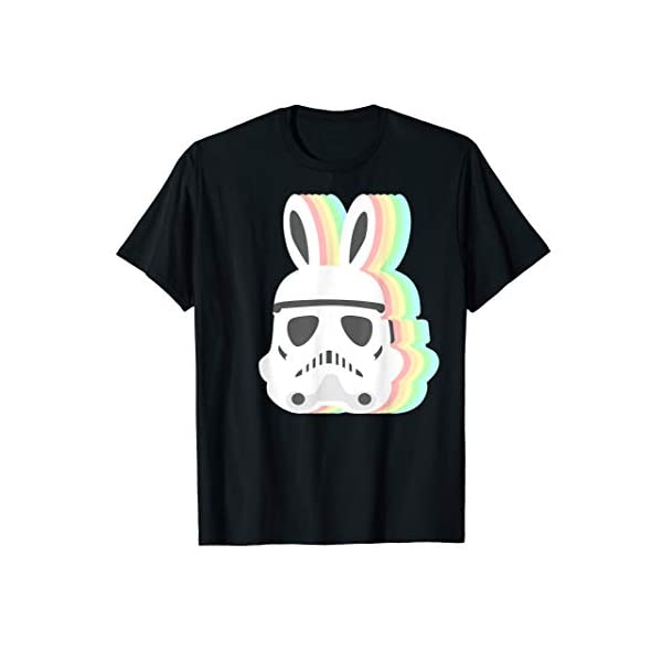Star Wars Easter Storm Trooper Pastel Easter Ears T-Shirt