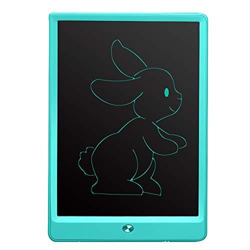 ETSXB Tableta de Escritura con Pantalla LCD, Tableta de Dibujo portátil de Almohadilla de Escritura a Mano de 10 Pulgadas con Bloqueo de Memoria Adecuado para la Escuela en casa para niños