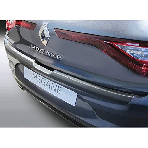 Protection de seuil arrière (ABS) compatible avec Renault Megane IV 5-portes 3/2016- Noir