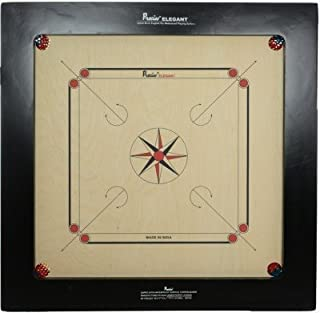 Precise Carrom Board Game Board Ply Wood Board with Coin, Striker & Powder(Jumbo,32mm)