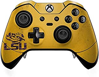 Skinit Decal Gaming Skin for Xbox One Elite Controller - Officially Licensed College LSU Tiger Eye Gold Design