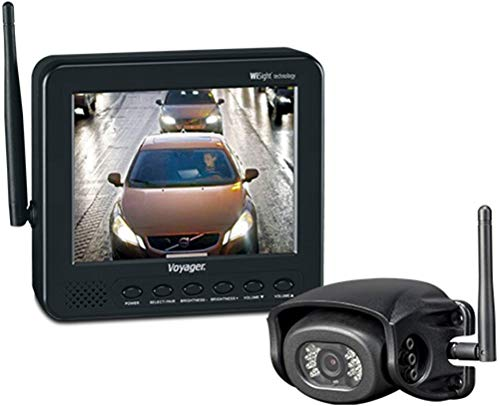 ASA Voyager Wireless Wisight Camera System with 5.6' Monitor for Prewired Trailers