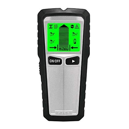 Stud Finder Sensor Wall Scanner, 5 in 1 Electronic Center Finders Wall Detector with Digital LCD Display & Sound Warning for Studs/Wood/Metal/Live AC Wires