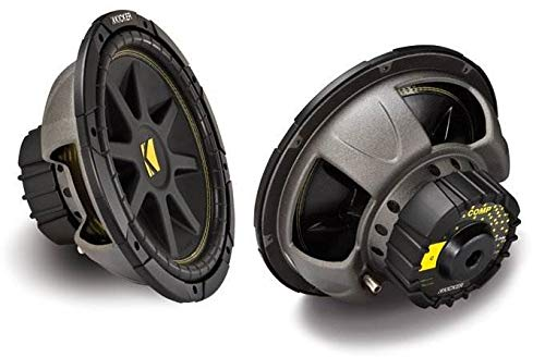 Kicker 12-Inch 300W Power Car Audio Subwoofers...