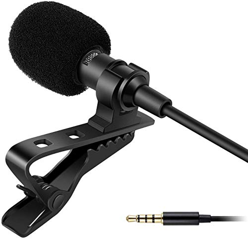 SHIVONIC Advance Dynamic 3.5mm mic Clip Microphone For Youtube, Collar Mike For Voice Recording, Lapel Mic Mobile, Pc, Laptop, Android Smartphones, Dslr Camera.