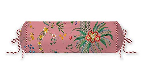 PIP Studio Petites Fleurs Roll Cush - Cojín cervical (22 x 70 cm), color rosa
