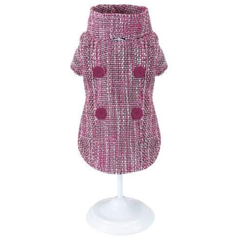 Croci C7374505 jas voor honden, Pinky Tweed, 20 cm