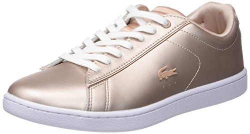 Lacoste Carnaby Evo, Damen Sneaker, Pink (Altrosa Altrosa), 37 EU (4 UK)