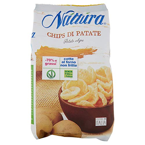 Eurofood Chips di Patate (-75% di Grassi) - 90 gr