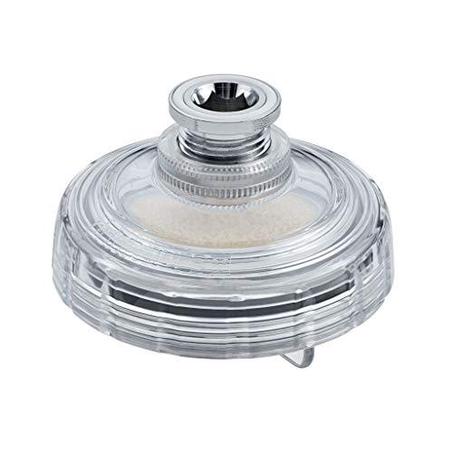 Novamem DrinkPure™ Clear I Wasserhahnfilter I Swiss Made I Patentierte Technologie filtert Bakterien, Mikroplastik und Pestizide