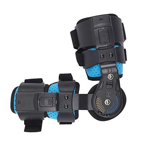 Soporte de codo con bisagras, soporte de recuperación de lesiones de ortesis de brazo ajustable de acero inoxidable, soporte de recuperación de protector de ortesis de eslinga de fijación