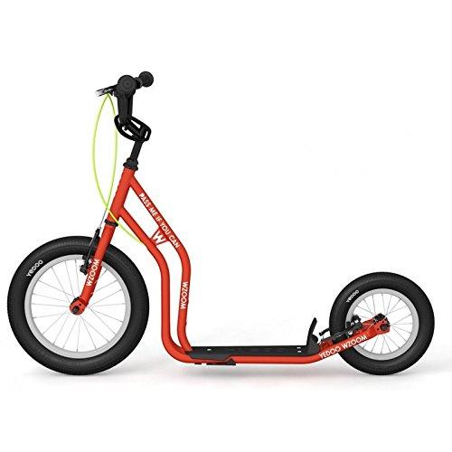 Yedoo New WZOOM Orange   Bambini Roller con pneumatici a partire da 6anni   Kick Scooter per Bambini   Monopattino