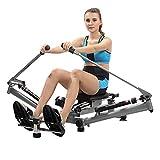 L.TSA Rudergeräte Rudergerät Klapprudergerät Mädchen Bauch Körper Bewegung nach Hause einfache Fitnessgeräte - 4