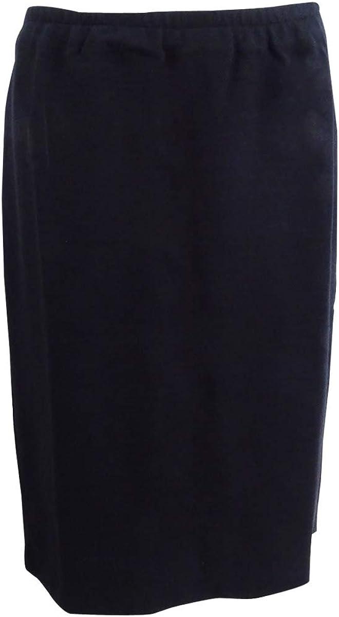 Sutton Studio Womens Side Zipper Ponte Pencil Skirt Misses