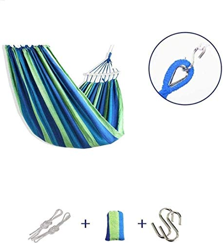 Suge Extérieur Hamac Camping Toile Rollover Simple Double Beach Camping Voyage Portable (Color : Style 2, Size : 200 * 80cm)