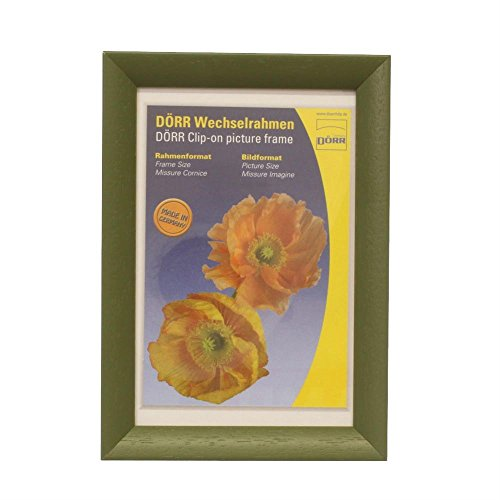 Dörr Dresden Bilderrahmen, Holz, 10 x 3 x 8 cm, Grün