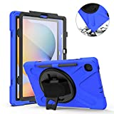 TH000 shockproof rugged case for Samsung Galaxy Tab S6 Lite with stylus holder 10.4
