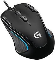 Logitech G - Mouse de Hasta 8,000 DPI para Gaming - Negro