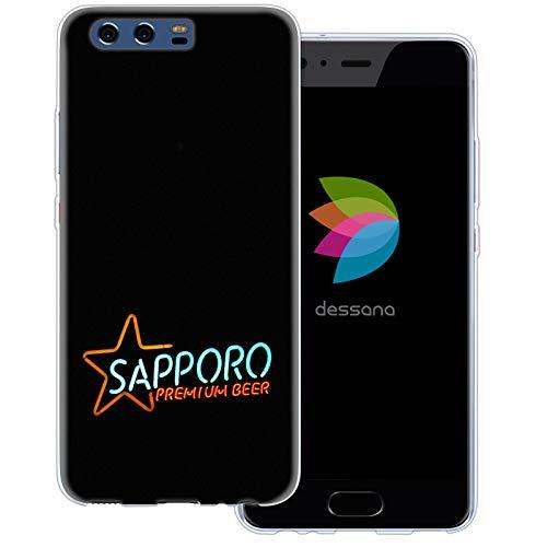 dessana Japan Sightseeing - Cover trasparente per Huawei P10 Sapporo birra
