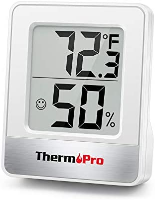 ThermoPro TP49 Digital Hygrometer Indoor Thermometer Humidity Meter Room Thermometer with Temperature product image