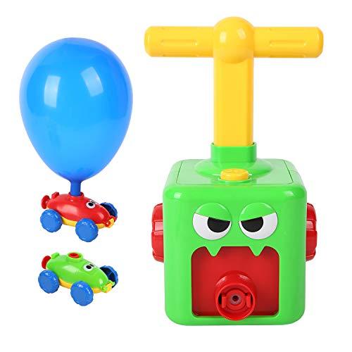 FORMIZON Globos para coche, juguete para niños, juguete para niños, experimentos científicos, juguete divertido de inercia para niños, juguete educativo