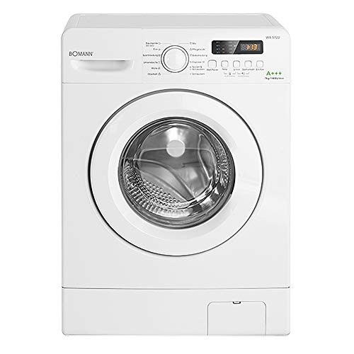 Bomann WA 5722 Waschmaschine Frontlader / EEK A+++ / 7 kg / 12 Waschprogramme plus Zusatzprogramm /...