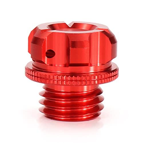 M20X2.5 Motorycle Motor Filtro de Aceite Filter Covers Ajuste para Kawasaki ER-6F 2006 2007 2009 2010 2011 2012 2012 2013 ER-6F (Color : Red)